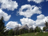 Clouds in Banff