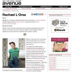 Rachael L'Orsa